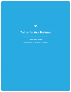 Twitter for business guide